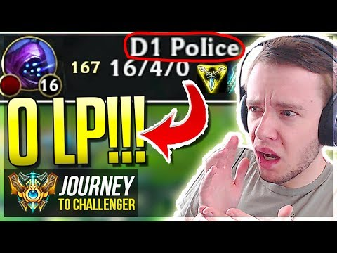 D1 POLICE IS AFTER ME!!!! HHHEEEEELLLPPPPP!!!!!!!!- Journey To Challenger | League of Legends