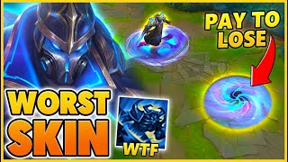 ONLY BUY THIS SKIN IF YOU WANT TO LOSE (WORST SKIN EVER) - BunnyFuFuu | League of Legends