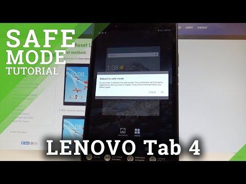 Safe Mode LENOVO Tab 4 10 (LTE) - HardReset info