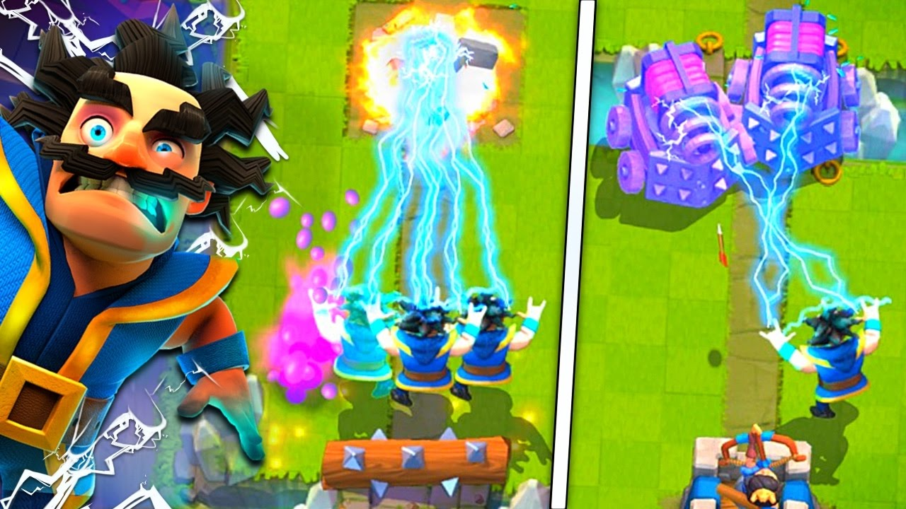 electro wizard tips tricks clash royale