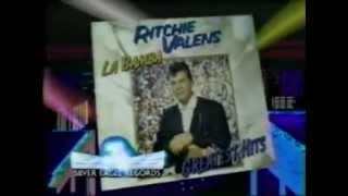 """1987 Ritchie Valens """"Greatest Hits"""" Album commercial"""