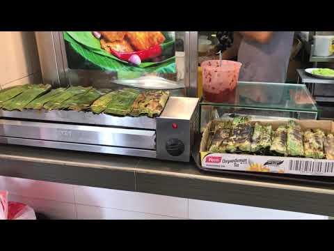 Geylang food shop. Singapore.