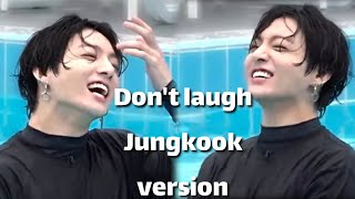 Jungkook Funny moment Try not to laugh challenge