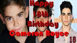 Happy 18th Birthday Cameron Boyce