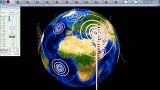 10/25/2011 -- Global Earthquake Overview -- 192 earthquakes 6.0M or greater this year !