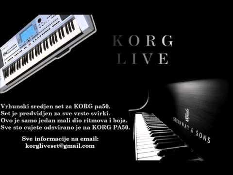 Korg Live Set Pa 50