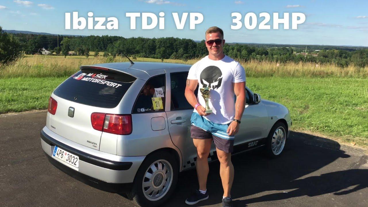 FIRST RACE 2020@MY SEAT IBIZA TDI VP 302HP - DRAG RACE JINDŘICHŮV HRADEC - TEST. 2ST PLACE |VORY TDI