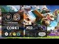 Corki Mid vs Veigar - KR Challenger Patch 9.12