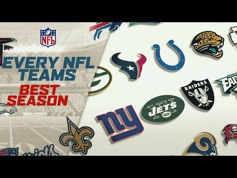 The Best Season Ever From All 32 NFL Teams