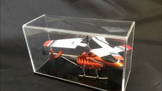 Helicopter Display Stand,acrylic Display Case,toy Display Case,acrylic Display Stand