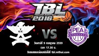tge vs pea july 9 2016 thailand basketball league tbl 2016