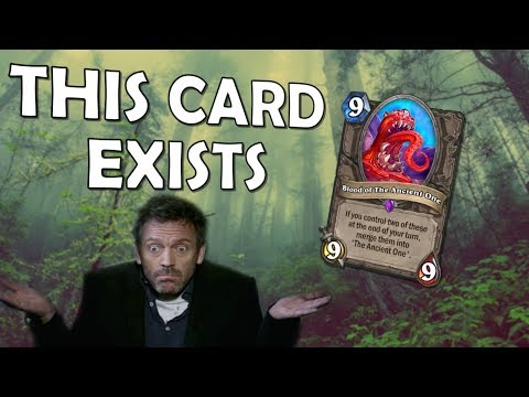 Hearthstone - Remember The Ancient One?
