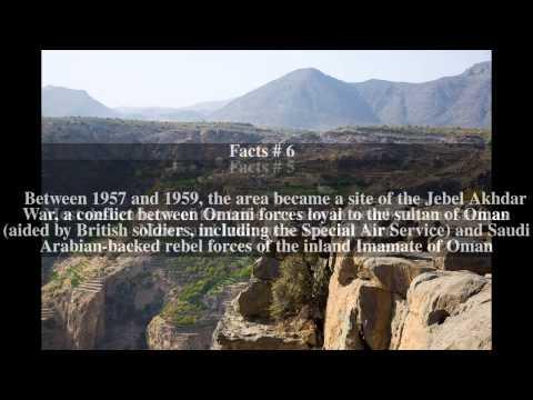 Jebel Akhdar (Oman) Top # 8 Facts
