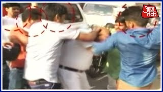 Dalit Man Thrashed By Angry Mob in Agra : Aaj Subah