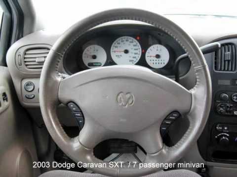 2003 Dodge Caravan SXT minivan - YouTube