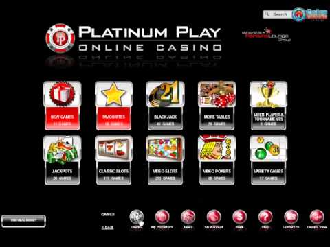 Video Casino platinum play
