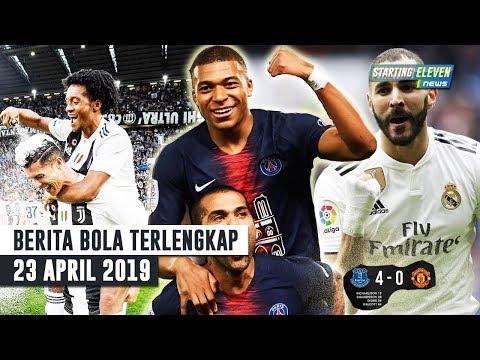 Ronaldo Cetak Rekor 😍 PSG Juara Liga 🤗 Benzema HATRICK ( Berita Bola Terlengkap )