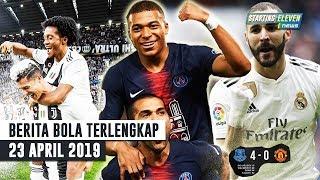 Ronaldo Cetak Rekor PSG Juara Liga Benzema HATRICK ( Berita Bola Terlengkap )
