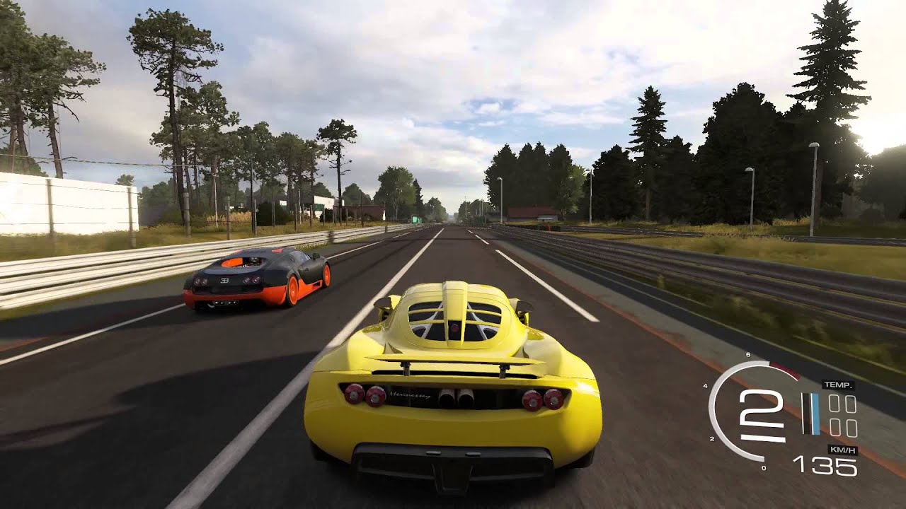 forza motorsport 5 hennessey venom gt vs bugatti veyron doovi. Black Bedroom Furniture Sets. Home Design Ideas