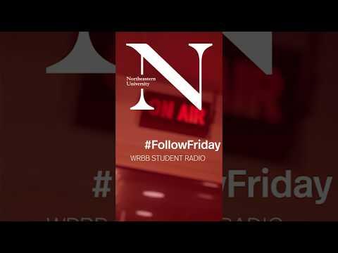 #FollowFriday - WRBB Student Radio