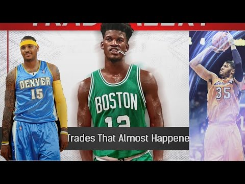 JIMMY BUTLER TO THE CELTICS WTF WOW! Top 10 NBA Trades That Almost Happened In 2017 Reaction!