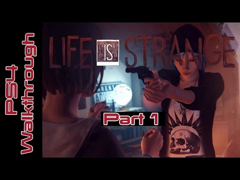 Life Is Strange Episode 1: Chrysalis Part 1 - Evolution Of Selfies (Lets Play Gameplay/Commentary)