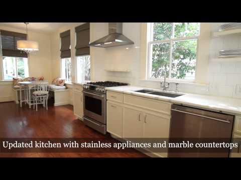 Charleston Real Estate Video: 39 Gadsden Street Charleston, SC 29401