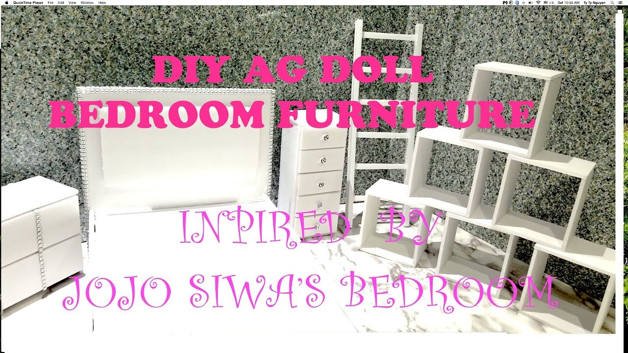 Jojo Siwa Diy Bedroom Furnitures For American Girl Doll