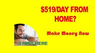 Work from the comfort of your own home   Way to make money    easy business