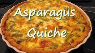 Asparagus Quiche Recipe ~ A Good Basic Quiche