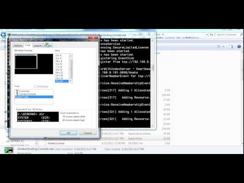 aneka tool manual configuration