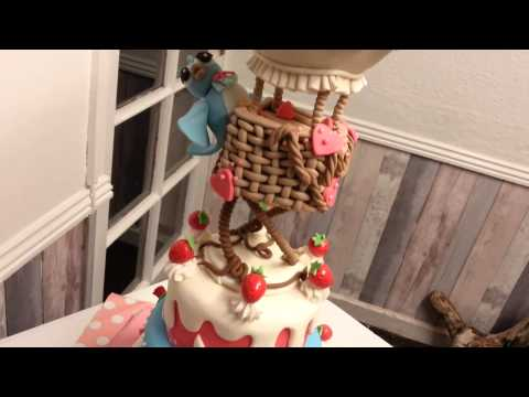 Cake creations from The Funky Fairy Cake Shop in Bridgtown