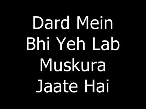 Beete Lamhein - Kk  With Lyrics By JD