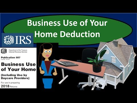 Business Use Of Your Home Tax Deduction - Home Office Deduction