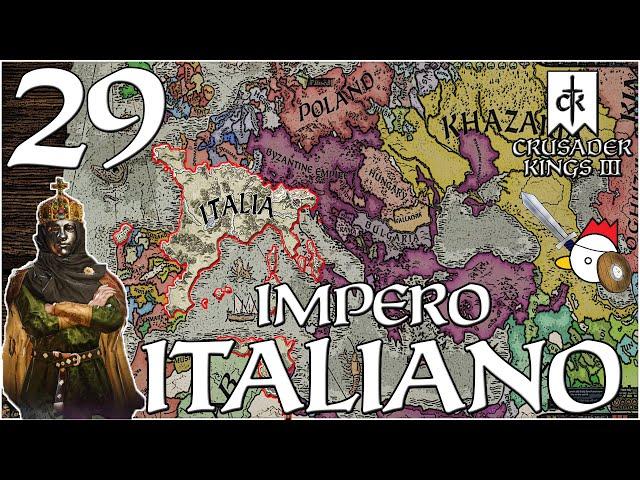 L'ULTIMA CROCIATA CATTOLICA?   Crusader Kings 3 ITA - IMPERO D'ITALIA #29