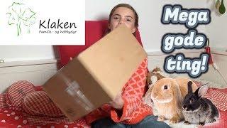 Unboxing fra Klaken kaniner! Mega fede ting! (Sponsoreret)