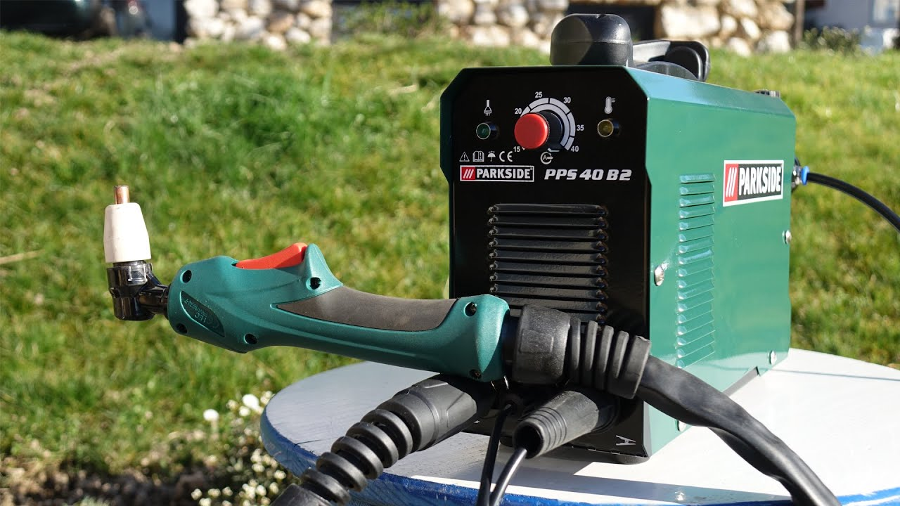 Plasma Cutter Parkside Pps 40 B2 149 Unboxing And Test Youtube