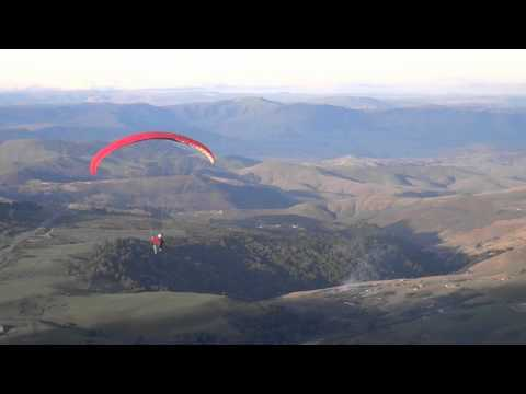 "Paragliding from ""Bulwer 1000"""