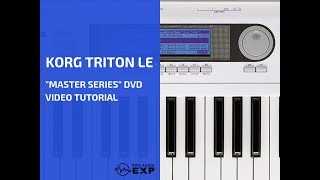 "Korg Triton Le (TR-61) ""Master Series"" DVD Video Tutorial Help Review"