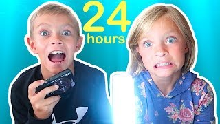 24 Hours with NO Parents!
