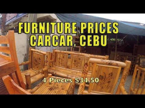 Furniture Prices, CarCar Cebu, Philippines.