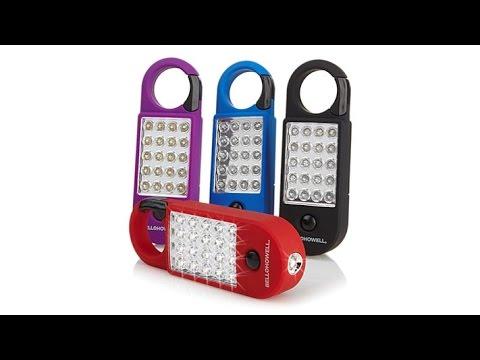 Bell howell 21 led torchlite max flashlight 4pack youtube