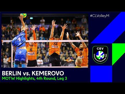 #CLVolleyM   BERLIN Recycling Volleys Vs Kuzbass KEMEROVO - MOTW Highlights
