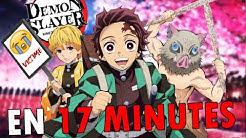 Demon Slayer EN 17 MINUTES |  RE: TAKE