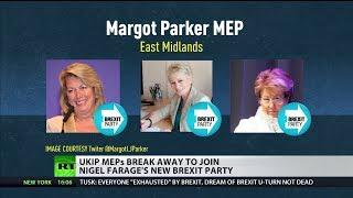 UKIP MEPs break away to join Nigel Farage's new Brexit Party