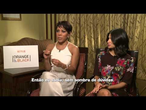 OITNB INTERVIEW - Selenis Leyva and Diane Guerrero - ORANGE IS THE NEW BLACK - ERICA REIS