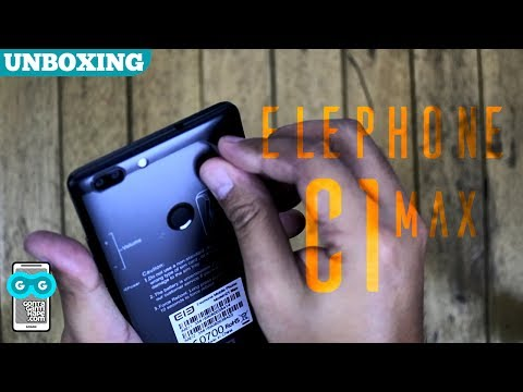 Unboxing Elephone C1 Max - Dual Kamera Pertama dari Elephone (revised)