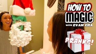 7 HOLIDAY MAGIC PRANKS!