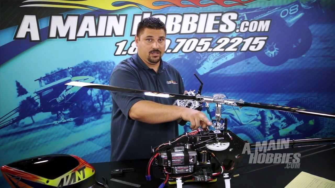 AMain Hobbies' RCTalk: How to Setup BeastX Flybarless Gyro System, Part 1  of 3