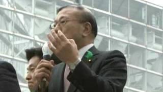 全国マニフェスト遊説第一声(NJ宮腰光寛衆院議員)2010.4.23